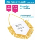 Mini fanion BLASON