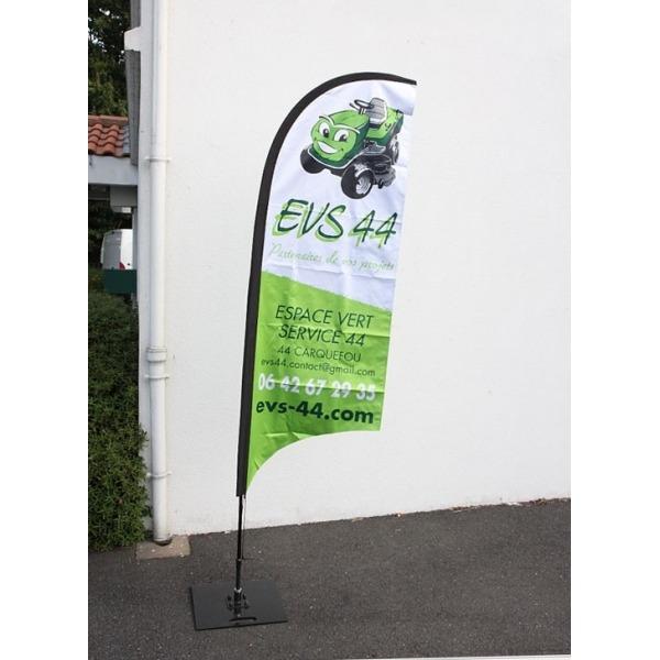 Kit complet wind flag 2m40 cliquez pub for Achat salon complet