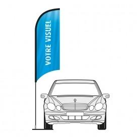 Kit Wind flag garage auto 200/350