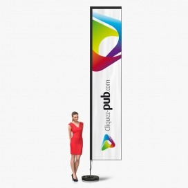 Kit complet Vertical Flag ECO - 4m20