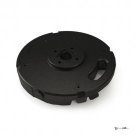 Socle complémentaire PVC SANS axe de rotation