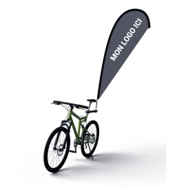 Kit Voile BIKE Flag sur vélo
