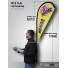 Kit Voile Flying Flag sur sac à dos (Trek Flag)