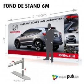 FOND DE STAND 6 M
