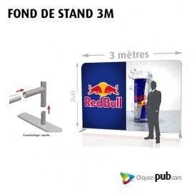 FOND DE STAND 3 M
