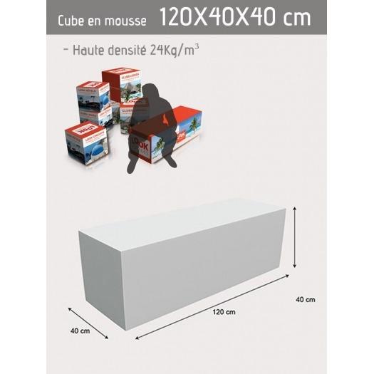 Cube personnalisable 40 x 120 x 40 cm