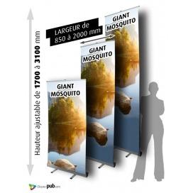 Enrouleur GIANT MOSQUITO - Ublock hauteur 3 m