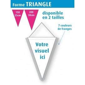 Fanion d'échange - TRIANGLE
