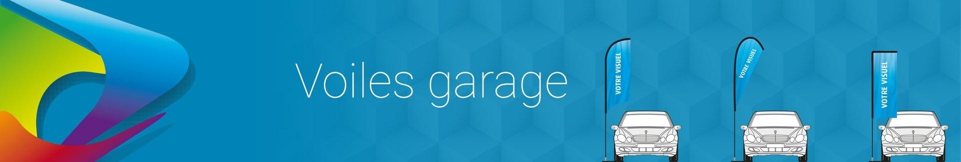 Catégorie Voiles pour garage auto